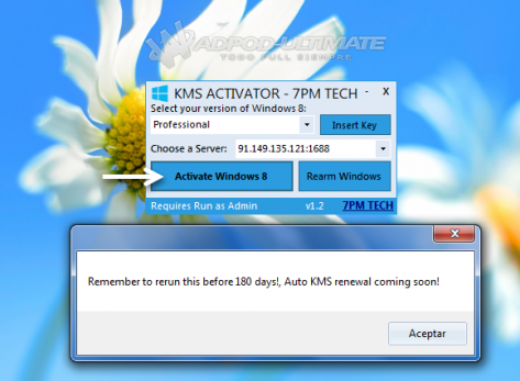 Windows 8 Pro Activation Key